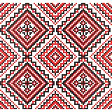 Embroidery. Ukrainian national ornament Stock Photography