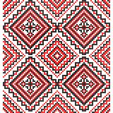 Embroidery. Ukrainian national ornament Stock Image