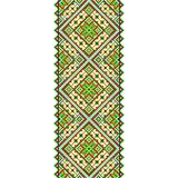 Embroidery. Ukrainian national ornament Royalty Free Stock Photography