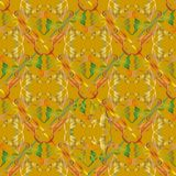 Embroidery vector seamless pattern. Colorful floral grunge backg Royalty Free Illustration
