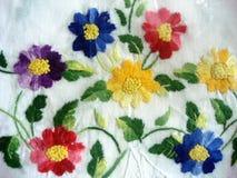 Embroidery work Stock Photos