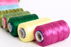 Free Embroidery Yarn Bobbins Stock Photos - 5556063