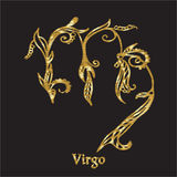 Embroidery with zodiac sign. Stock Images
