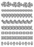 Embroidry tradizionale del Kazakhstan Royalty Illustrazione gratis