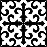 Embroidry tradizionale di Seamless_Kazakhstan Royalty Illustrazione gratis