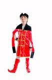 Embroma el traje del carnaval Imagen de archivo libre de regalías