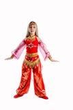 Embroma el traje del carnaval Foto de archivo