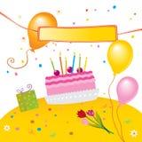 Embroma la fiesta de cumpleaños Fotos de archivo libres de regalías