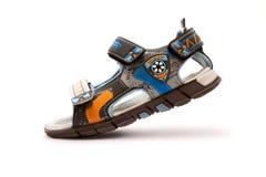 Embroma las sandalias Imagen de archivo libre de regalías