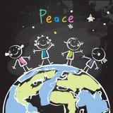 Embroma paz ilustración del vector