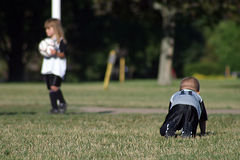Embroma soccer1 foto de archivo