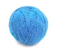 Embrouillement tricoté bleu photos stock