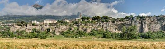 Embrun - Alpes - la Francia Fotografia Stock Libera da Diritti