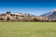 Embrun, Hautes-Alpes, France Stock Photos