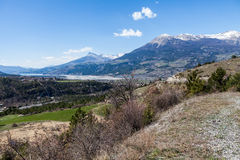 Embrun, Hautes-Alpes, France Stock Photo
