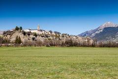 Embrun, Hautes-Alpes, France Stock Photography