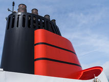 Embudo de Cunard Imagen de archivo libre de regalías