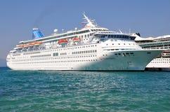 Embudo de Tui Cruises Imagen de archivo libre de regalías