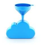 Embudo en la nube Fotos de archivo libres de regalías