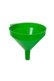 Embudo verde Imagen de archivo