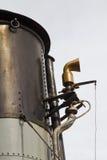 Embudo y silbido de un buque de vapor Fotografía de archivo