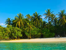 Embudu Village Island, Maledives, Indian Ocean Royalty Free Stock Photo