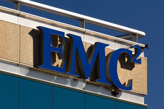 EMC Building Royalty Free Stock Image