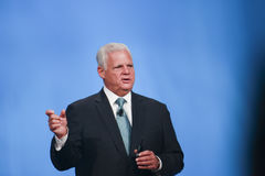 EMC CEO  Joe Tucci Royalty Free Stock Images