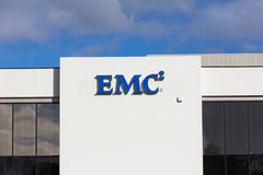 EMC Facility in Silicon Valley Royalty Free Stock Image