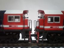 EMD GT38ACe royalty free stock photo