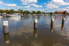 Emdenstad Nedersaksen Duitsland Royalty-vrije Stock Foto's