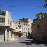 Emek Hebron Street, Abandoned Buildings Stock Image