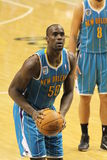 Emeka Okafor free throw New Orleans Hornets Royalty Free Stock Photography