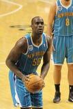 Emeka Okafor free throw New Orleans Hornets Royalty Free Stock Photography