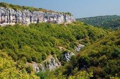 Emen Canyon in August. Emen canyon in Veliko Tarnovo area in Bulgaria in August Stock Photography