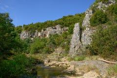 Emen kanjon Arkivbild