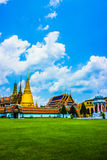 Emeral buddha tempel Royaltyfri Foto