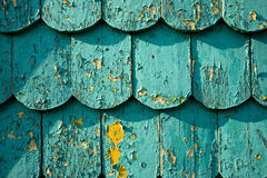 Emeral shingles Royalty Free Stock Image