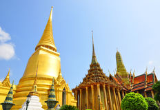 The Emeral temple or Wat Phra Keaw Royalty Free Stock Photography