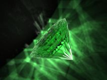 Emerald royalty free stock image