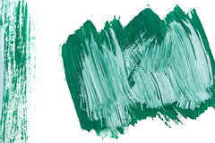 Emerald background gouache Stock Images