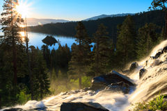 Emerald Bay. Sunrise over Emerald Bay, Lake Tahoe royalty free stock photo