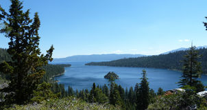 Emerald Bay Royaltyfri Foto