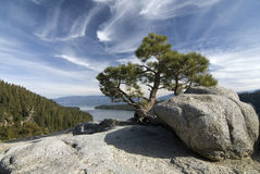 Emerald bay. State park, Lake Tahoe,Nevada Royalty Free Stock Photography
