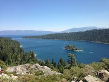 Emerald Bay Royaltyfria Bilder