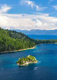 Emerald Bay island Stock Images