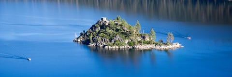 Emerald Bay island Stock Photo