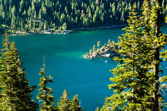 Emerald Bay, Lake Tahoe Royalty Free Stock Images