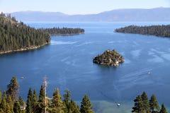 Emerald Bay, Lake Tahoe. Emerald Bay in Lake Tahoe, California Royalty Free Stock Image