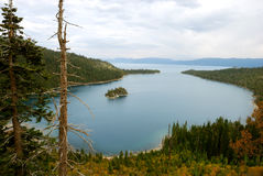 Emerald Bay on Lake Tahoe Royalty Free Stock Photography